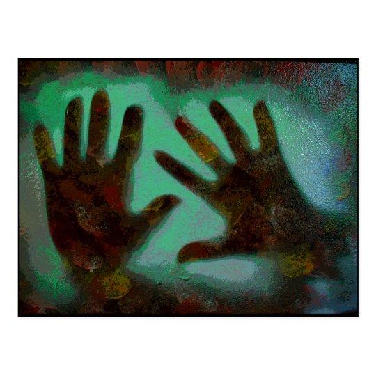 Handprints Postcard
