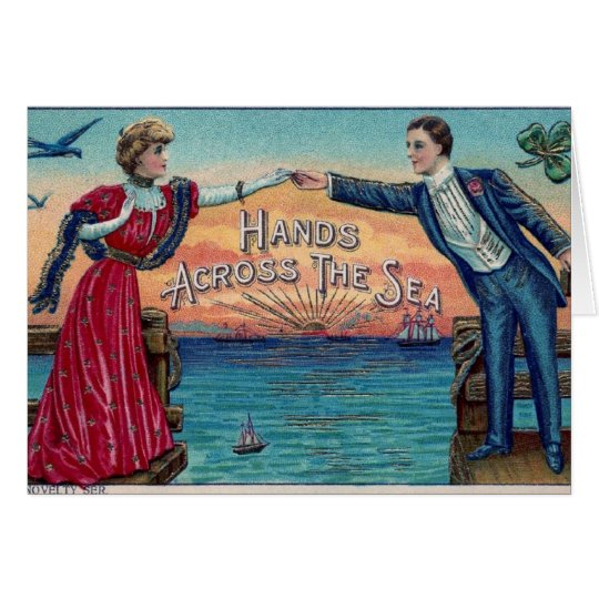 Hands Across the Sea Card