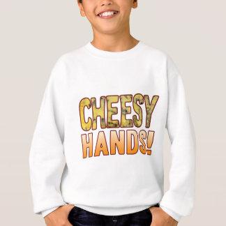 Hands Blue Cheesy Sweatshirt