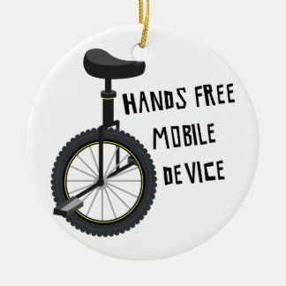 Hands Free Mobile Device Christmas Ornament