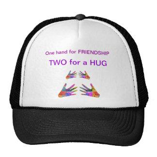 HANDS Henna Friendship HUG Trucker Hat