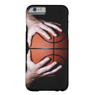 Hands holding a basketball barely there iPhone 6 case