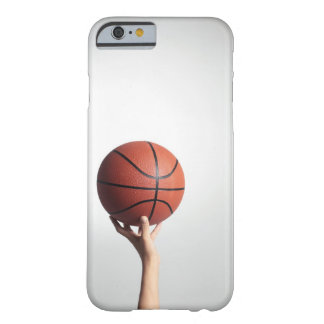 Hands holding a basketball,hands close-up barely there iPhone 6 case