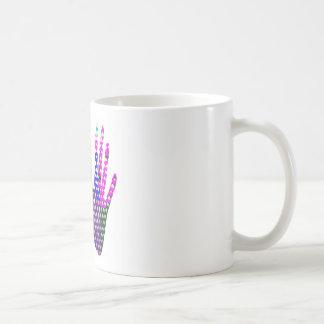 Hands in BLESSING Basic White Mug