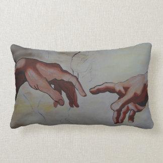 hands lumbar pillow