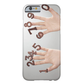 hands&numbers,hands close-up barely there iPhone 6 case