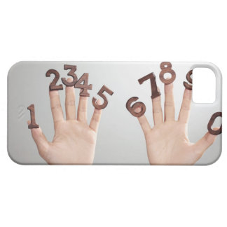 hands&numbers,hands close-up case for the iPhone 5
