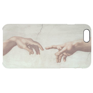 Hands of God and Adam Clear iPhone 6 Plus Case