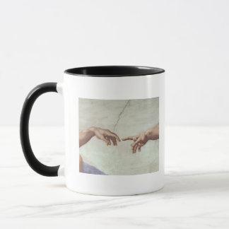 Hands of God and Adam Mug
