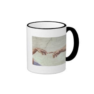 Hands of God and Adam Mugs
