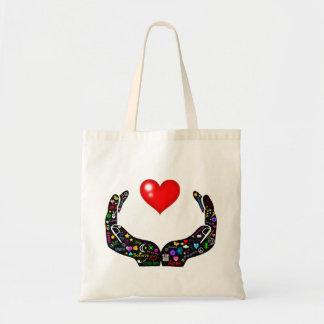 Hands of Love Budget Tote Bag