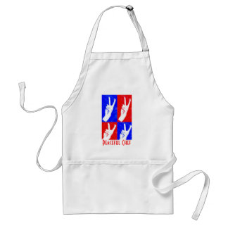 Hands of Peace-Peaceful Chef Standard Apron