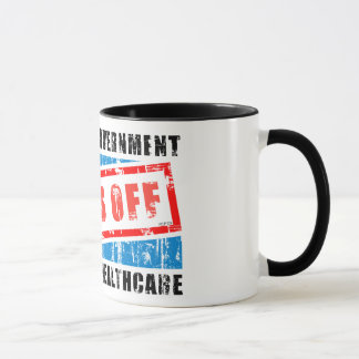 Hands Off Healthcare Mug