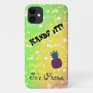 Hands Off iPhone X case