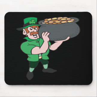 Hands Off Me Gold Mouse Pad