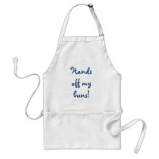 Hands off my buns! standard apron