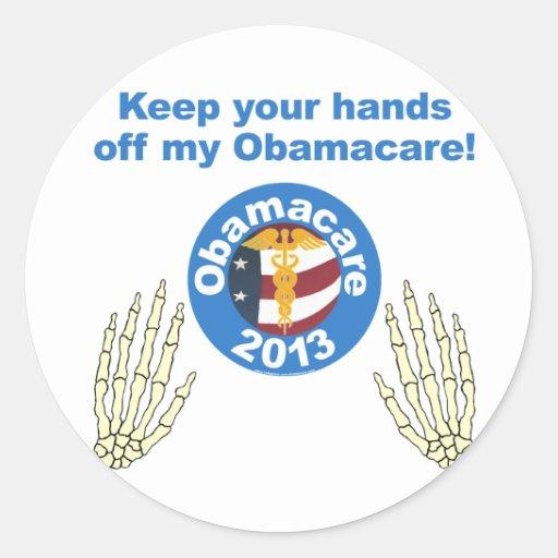 Hands off my Obamacare Sticker