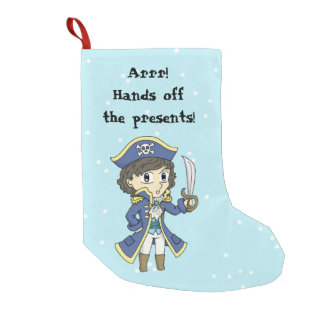 Hands off the presents! - Pirate holiday stocking