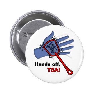Hands Off, TSA! Round Button