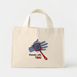 Hands Off, TSA! Tiny Tote Bag