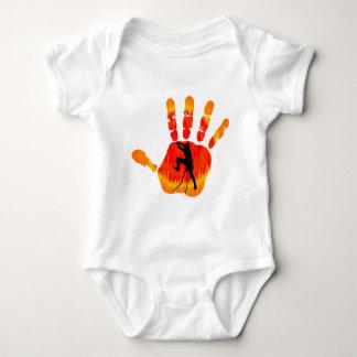 HANDS ON CLIMBING BABY BODYSUIT