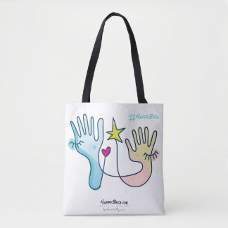 Hands on! tote bag