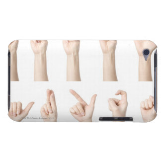 Hands showing Chinese way of counting Barely There iPod Cover