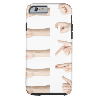 Hands showing Chinese way of counting Tough iPhone 6 Case