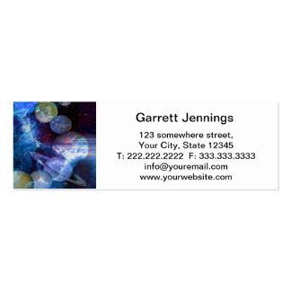 Hands Towards Heaven Double-Sided Mini Business Cards (Pack Of 20)