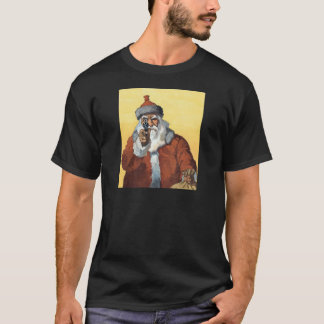 Hands Up! - As Santa Claus looks to some of us. T-Shirt