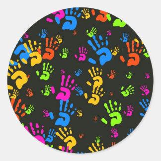 Hands Wallpaper Sticker