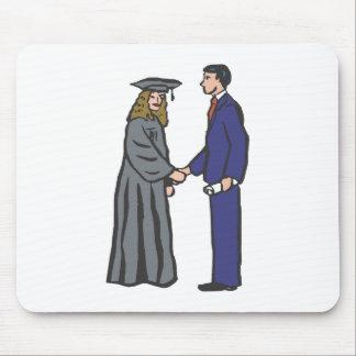 Handshake Graduate Mouse Pads
