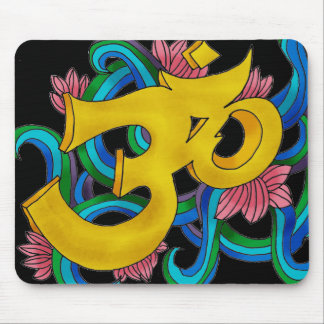 handsketched OM colored Mouse Pad