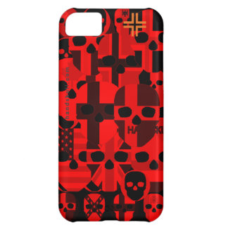 HANDSKULL Cerebro Red - IPhone 5C Barely There Cas iPhone 5C Case