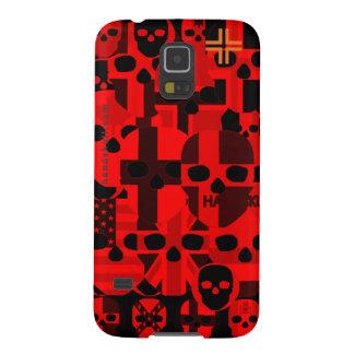 HANDSKULL Cerebro Red - Samsung Galaxy S5, Barely Case For Galaxy S5
