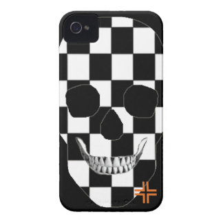 HANDSKULL Chess - iPhone 4 Barely There Univ iPhone 4 Cases