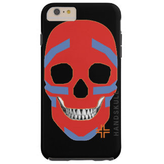 HANDSKULL Crazy Head - iPhone 6 Plus, Vibe Tough iPhone 6 Plus Case