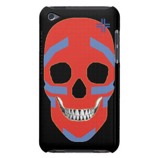 HANDSKULL Crazy Head - iPod Touch Barely 4th Gener iPod Touch Case