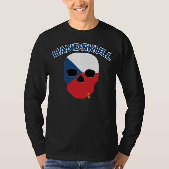 HANDSKULL Czechoslovakia - Basic Long Sleeve T-Shirt