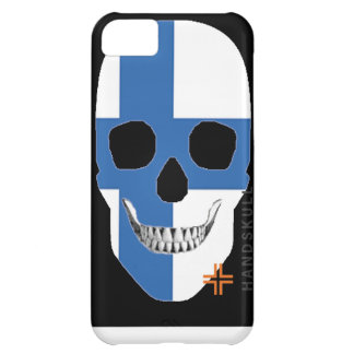 HANDSKULL Finland iPhone 5C Barely There Case-Mate