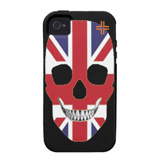 HANDSKULL Great Britain - iPhone 4S Tough iPhone 4/4S Case