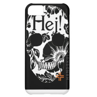 HANDSKULL Hej iPhone 5C Barely There Case-Mate