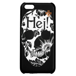 HANDSKULL Hej - iPhone 5C Glossy Finish Case For iPhone 5C