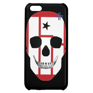 HANDSKULL Nine Inchs Nuts - iPhone 5C Glossy Finis Case For iPhone 5C