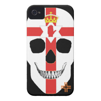 HANDSKULL Northern Ireland - IPhone 4 Barely There Case-Mate iPhone 4 Case