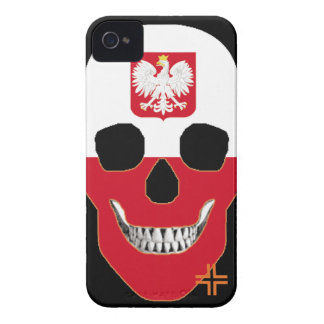 HANDSKULL Poland - IPhone 4 Barely There Univ iPhone 4 Case-Mate Cases