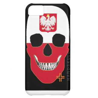 HANDSKULL Poland iPhone 5C Barely There Case-Mate