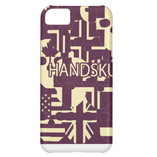 HANDSKULL Purple Faces iPhone 5C Barely There Case