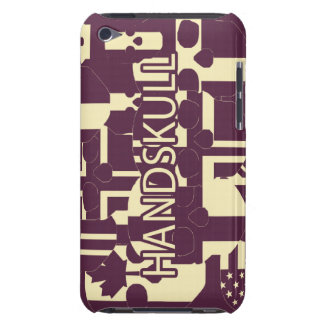 HANDSKULL Purpur - Ipod Touch Case Barely