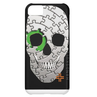 HANDSKULL Puzzle iPhone 5C Barely There Case-Mate